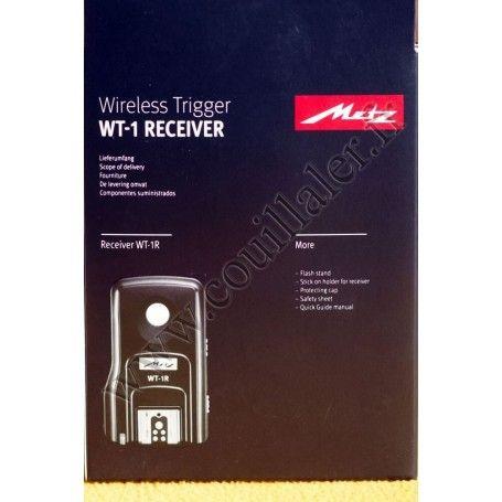 Récepteur Metz WT-1R Sony - Déclenchement flash sans-fil - Pour Transmetteur Metz WT-1T - Metz WT-1R Sony - Accessoires Photo...