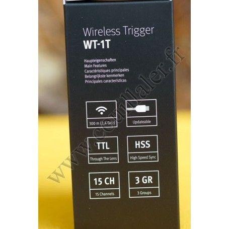 Transmetteur Metz WT-1T - Déclenchement flash sans-fil - Pour récepteur Metz WT-1R - Metz WT-1T Sony - Accessoires Photo-Vidé...
