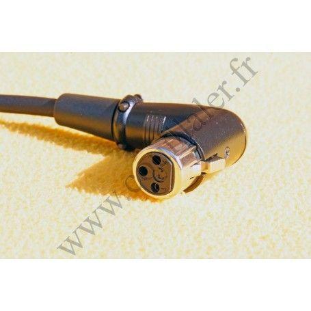 Pearstone PM-01.5R - Câble Audio XLR coudé Mâle-Femelle 3 broches - 45cm - Pearstone PM-01.5R - Accessoires Photo-Vidéo Sony ...