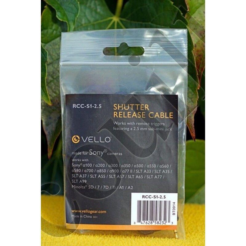 Vello RCC-S1-2.5 - Vello RCC-S1-2.5 - Accessoires Photo-Vidéo Sony Caméscope et Appareils-photo