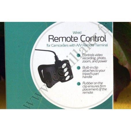 Télécommande filaire Revo VRS-AVR pour Sony prise A/V - Remplace RM-AV2 - Revo VRS-AVR - Accessoires Photo-Vidéo Sony Camésco...