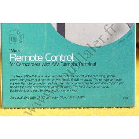 Remote Control Revo VRS-AVRfor Sony with A/V plug - Replace Sony RM-AV2 Revo VRS-AVR Remote Control Revo VRS-AVRfor Sony with...