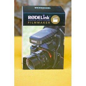 Microphone sans-fil Rode Filmmaker Kit Émetteur, récepteur et Micro cravate Kits sans-fil