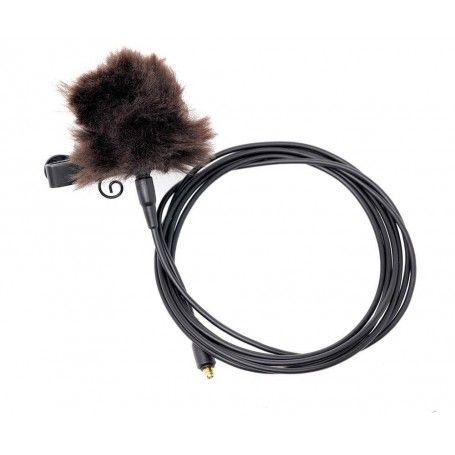Microphone Cravate Rode Lavalier - Micon Câble 1.2m - Bonnette anti-vent - Rode Lavalier - Accessoires Photo-Vidéo Sony Camés...