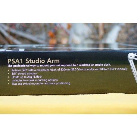 Bras de support Rode PSA1 pour Microphones - Pied articulé - fixation table - Rode PSA1 - Accessoires Photo-Vidéo Sony Camésc...
