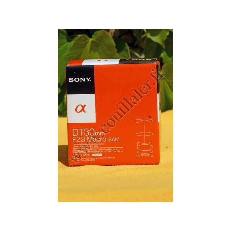 Sony SAL-30M28 Objectifs