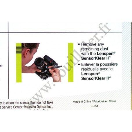 Kit de nettoyage Lenspen SKLK-1 - Capteur CCD CMOS Photo DSLR - Loupe 8 LED, Pinceau stylo, poire soufflante - Lenspen SKLK-1...