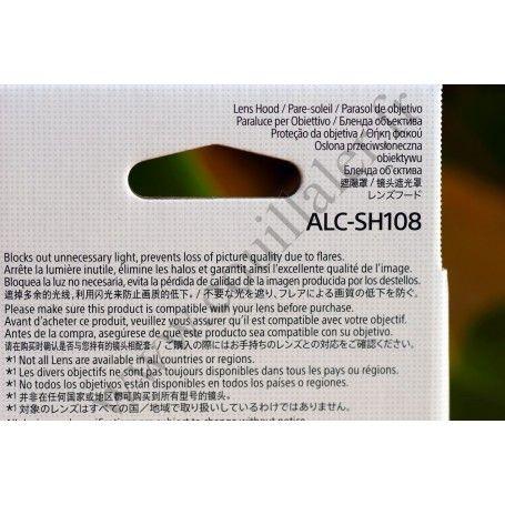 Pare-soleil Sony ALC-SH108 pour objectifs SAL-1855, SAL-18552 & SAL-1870 - Sony ALC-SH108 - Accessoires Photo-Vidéo Sony Camé...