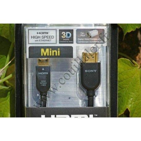 Mini-HDMI cable Sony DLC-HEM15 - 1.5m Sony DLC-HEM15 Mini-HDMI cable Sony DLC-HEM15 - 1.5m - Sony DLC-HEM15 - Accessory Photo...