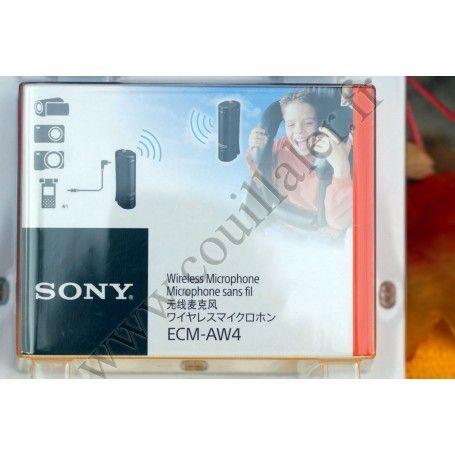 Microphone sans-fil Bluetooth Sony ECM-AW4 - Kit Micro complet Universel - Sony ECM-AW4 - Accessoires Photo-Vidéo Sony Camésc...