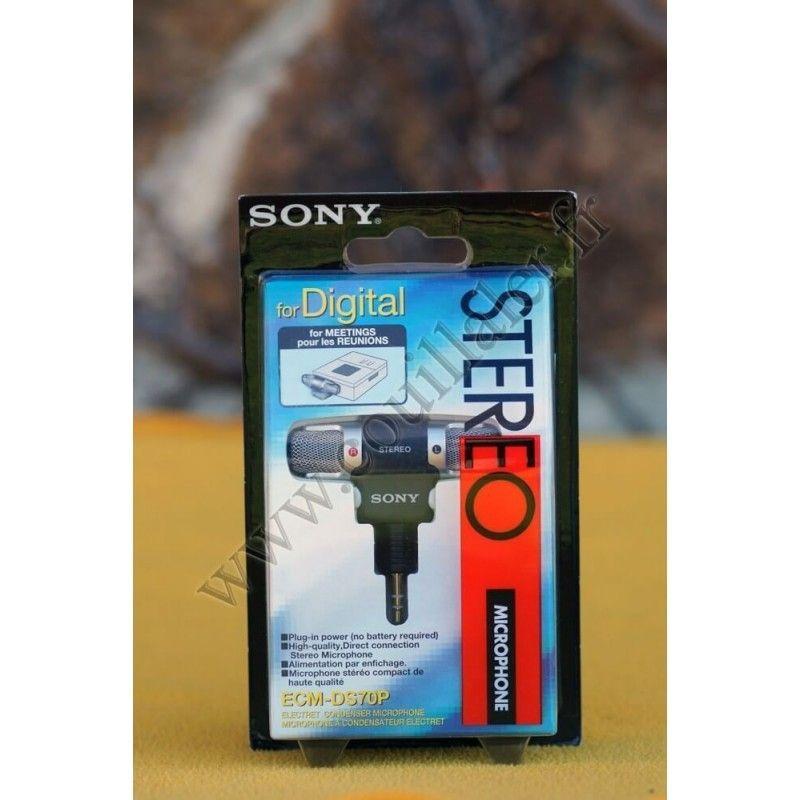 Sony ECM-DS70P - Sony ECM-DS70P - Accessoires Photo-Vidéo Sony Caméscope Appareils-photo