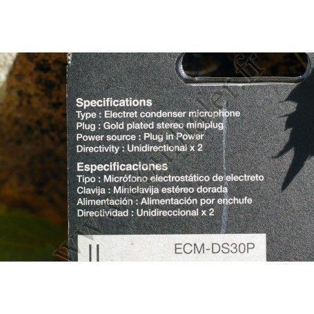 Sony ECM-DS30P - Sony ECM-DS30P - Accessoires Photo-Vidéo Sony Caméscope Appareils-photo