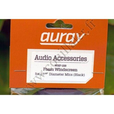 Bonnette Microphone Auray WHF-158 - Sony Sennheiser Shure Audio-Technica ... - Auray WHF-158 - Accessoires Photo-Vidéo Sony C...