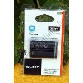 Sony NP-FM500H Énergie