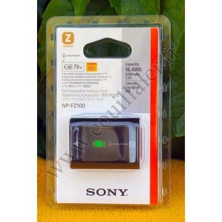 Batterie InfoLithium Sony NP-FZ100 - Rechargeable - Alpha DSLR ILCE - BC-QZ1 - Sony NP-FZ100 - Accessoires Photo-Vidéo Sony C...