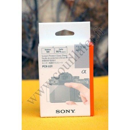 Protection verre Sony PCK-LG1 - écran LCD a9, a7, DSC-RX100, DSC-RX10 - Sony PCK-LG1 - Accessoires Photo-Vidéo Sony Caméscope...