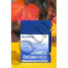 Cassette de nettoyage DVCAM Sony PDVM-12CL - caméscope HDV - Sony PDVM-12CL - Accessoires Photo-Vidéo Sony Caméscope Appareil...