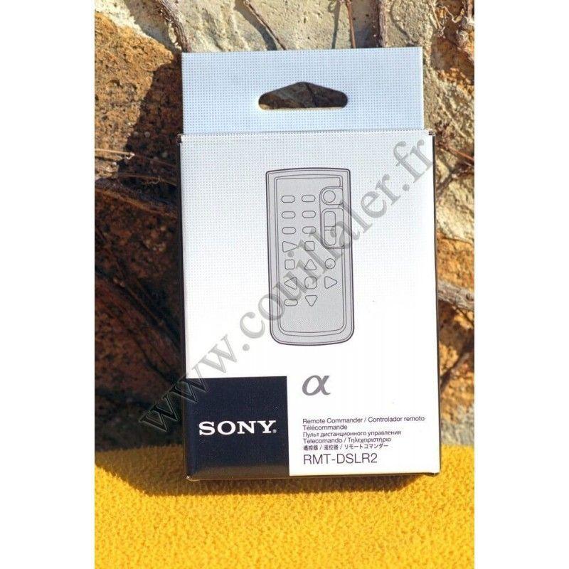 Télécommande Sony RMT-DSLR2 - DSLR Alpha & NEX - Infra-rouge - Sony RMT-DSLR2 - Accessoires Photo-Vidéo Sony Caméscope Appare...