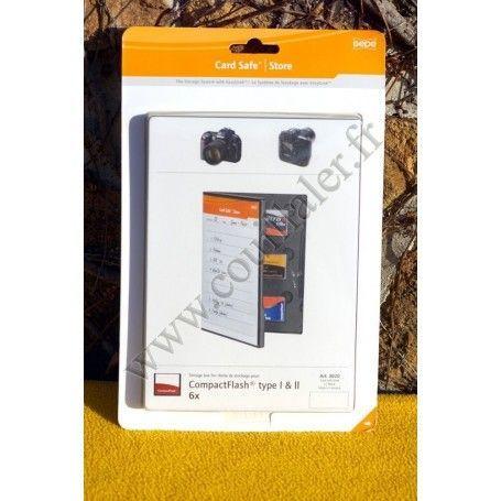Gepe Card Safe Store CF 3020 - Gepe Card Safe Store CF 3020 - Accessoires Photo-Vidéo Sony Caméscope Appareils-photo