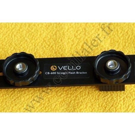 Bras de support Vello CB-600 - Flash, Microphone, Torche, Kit sans-fil, compatible trépied - Vello CB-600 - Accessoires Photo...