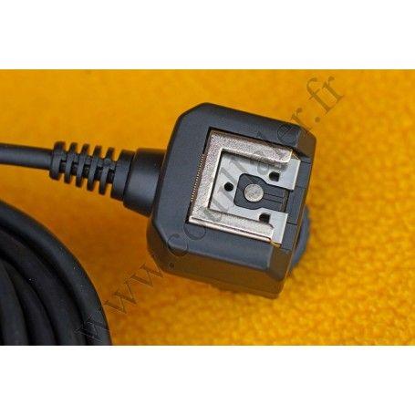 Câble de déport pour flash Vello OCS-SMI33 - Compatible Sony Multi-Interface Shoe MIS - 10m - Vello OCS-SMI33 - Accessoires P...