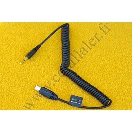 Câble pour télécommande Vello RCC-S2-3.5 - prise Sony Multi-Terminal et MiniJack 3.5mm - Vello RCC-S2-3.5 - Accessoires Photo...