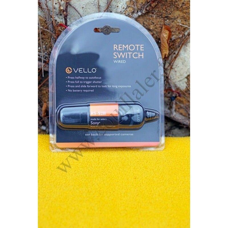 Télécommande filaire Vello RS-S2II pour Sony Multi-Terminal - Vello RS-S2II - Accessoires Photo-Vidéo Sony Caméscope Appareil...