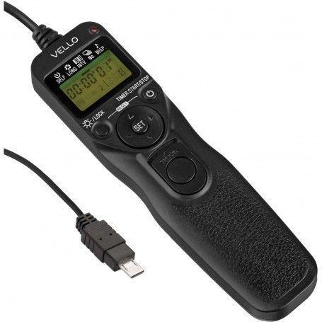Télécommande Vello RC-S2II - Intervallomètre pour Sony Multi-Terminal - Caméscope Handycam, Alpha DSLR, Nex, Cyber-shot - Vel...