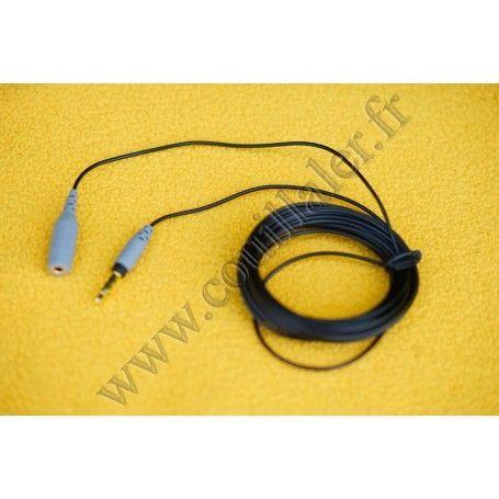 Rallonge Rode SC1 - Câble d'extension Røde pour microphone minijack TRRS - Rode SC1 - Accessoires Photo-Vidéo Sony Caméscope ...