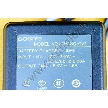Sony BC-QZ1 Chargeurs de batteries