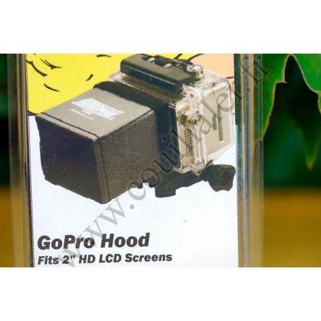 Pare-soleil Hoodman H-200 - Ecran LCD GoPro - caméscopes 2 pouces - Compatible 16:9 - Hoodman H-200 - Accessoires Photo-Vidéo...