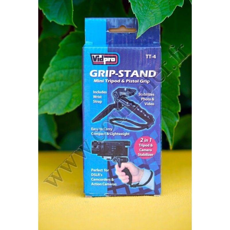 Kit Poignée Grip et trépied de table VidPro TT-4 - VidPro TT-4 - Accessoires Photo-Vidéo Sony Caméscope Appareils-photo