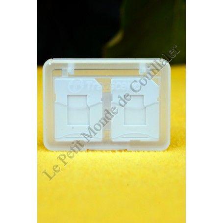 Boîte de rangement Transcend Card Case 88-0164 - Pour Carte-mémoire SD et Micro-SD - Transcend Card Case 88-0164 - Accessoire...