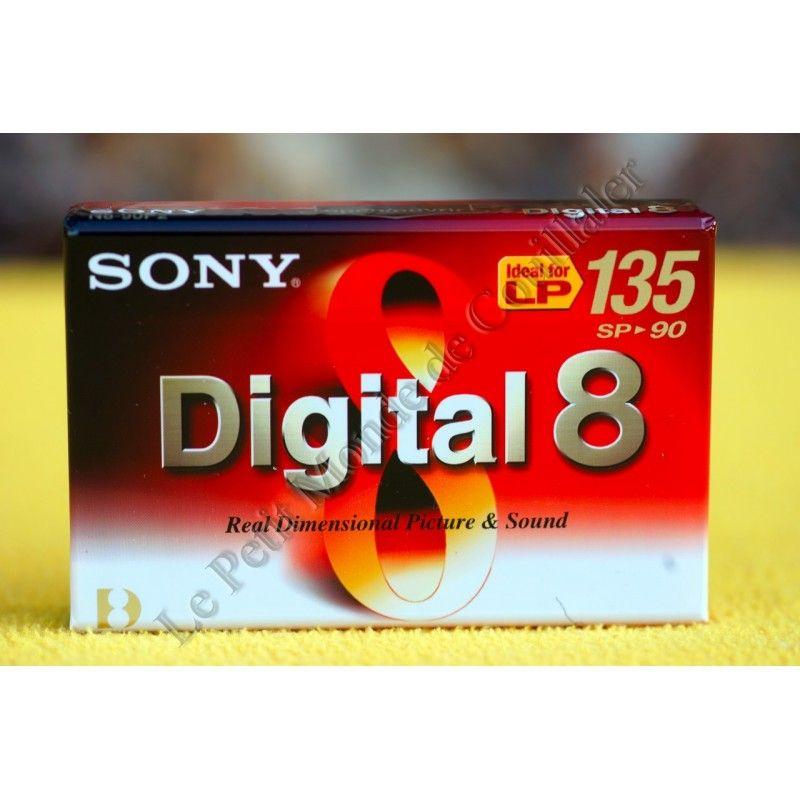 Cassette Digital 8 Sony N8-90P - 8mm - Caméscope Digital8 Video8 Hi8 - Sony N8-90P - Accessoires Photo-Vidéo Sony Caméscope A...