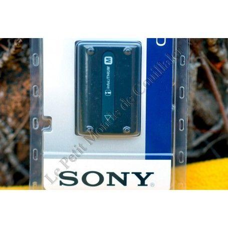 Batterie InfoLithium Sony NP-FM50 - Série M - Rechargeable - Handycam - Stamina - Alpha DSLR - Sony NP-FM50 - Accessoires Pho...