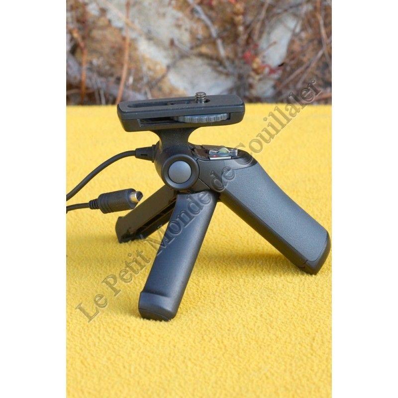 Poignée Grip Sony GP-AVT1 - Convertible Mini Trépied de table - Prise A/V - Commandes Déclenchement Photo Vidéo Start-Stop - ...