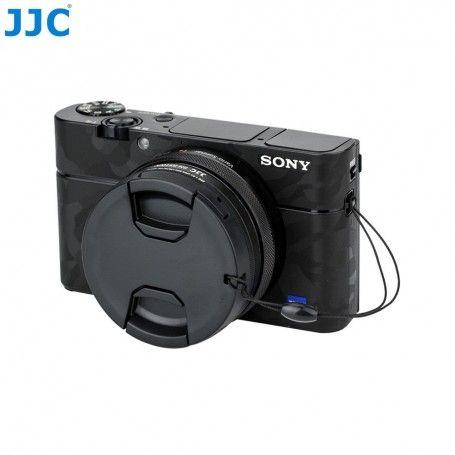 Adaptateur de filtre JJC RN-RX100V pour Sony DSC-RX100 modèles I à V - 52mm - Avec capuchon d'objectif - JJC RN-RX100V - Acce...