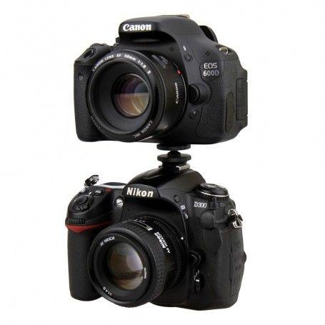 Adaptateur JJC MSA-11 Griffe Porte-accessoire pour Action Cam, Moniteur écran LCD - Remplace Sony VCT-CSM1 - JJC MSA-11 - Acc...