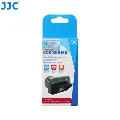 Pare-soleil rigide JJC LCH-A6 Écran LCD Sony Alpha A6600 A6500 A6400 A6300 A6100 A6000 - ILCE-6600 ILCE-6500 ILCE-6400 ILCE-6...