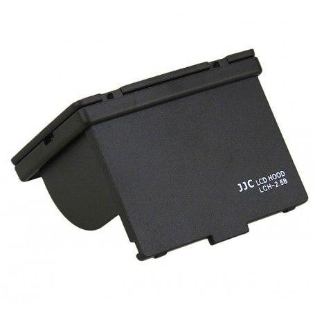 Pare-soleil rigide JJC LCH-2.5B avec vitre de protection pour écran LCD appareil-photo 2.5 pouces - JJC LCH-2.5B - Accessoire...