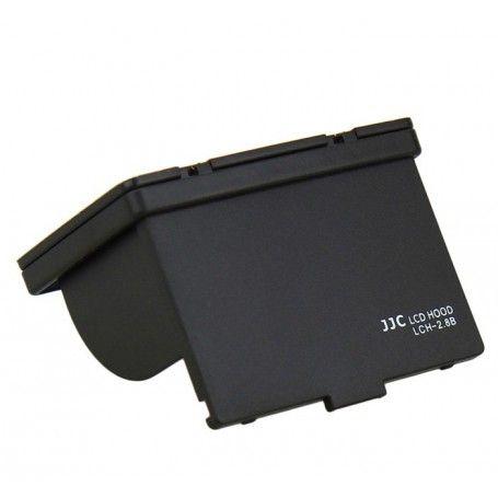 Pare-soleil rigide JJC LCH-2.8B avec vitre de protection pour écran LCD appareil-photo 2.7 et 2.8 pouces - JJC LCH-2.8B - Acc...