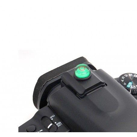 Cache avec niveau à bulle JJC SL-2 - Capuchon de Griffe porte-accessoire à verrouillage automatique Sony Minolta - JJC SL-2 -...
