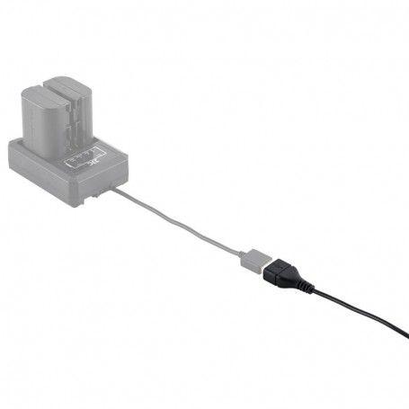 Rallonge USB JJC CABLE-USBE40 - 40cm - Chargeur de batterie USB - Cable cuivre - JJC CABLE-USBE40 - Accessoires Photo-Vidéo S...