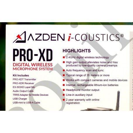 Azden Pro-XD Son