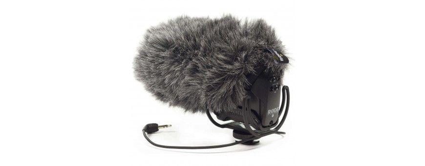 Bonnettes anti-vent pour microphones Sony, Røde - externe / interne - Photo-Vidéo - couillaler.fr