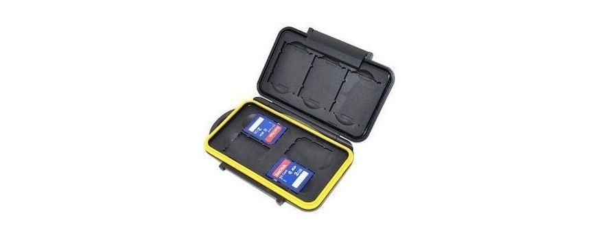 Étuis de rangement rigide pour cartes-mémoire Sony QXD, SDXC, SDHC, SD - Photo et Vidéo - couillaler.fr