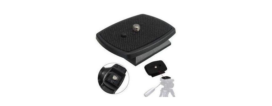 Accessoire trépied Sony - Plateau fixation rapide - Handycam, Cyber-shot, DSLR Alpha - Photo - Vidéo - couillaler.fr