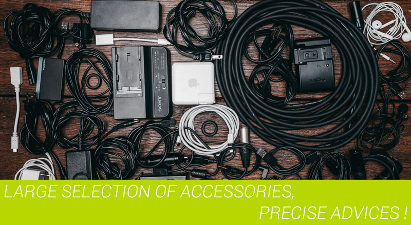 Large Choice of Sony photo and video accessories
